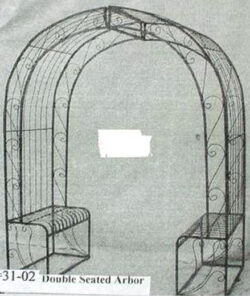 ARB-007 DOUBLE SEATED ARCH