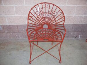 CHS-086 ROUND BACK VICTORIAN CHAIR