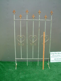 FEN-004 4' TALL 7 POINT FREE STANDING FENCE