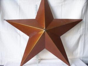 TIN-015 XLARGE TIN STAR 48in