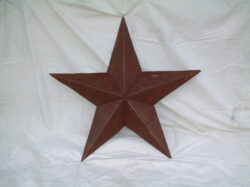 TIN-016 JUMBO TIN STAR 70in