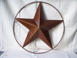 TIN-025 LG TIN STAR IN RING 36in dia