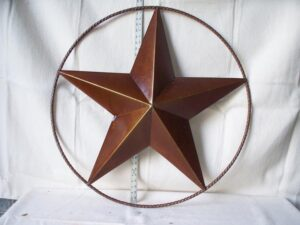 TIN-025 LG TIN STAR IN RING 36in dia