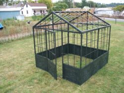 GAZ-090 8' X 8' GREENHOUSE