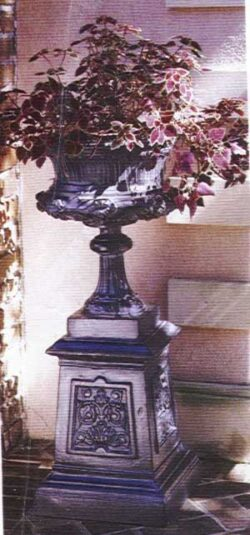 ALP-102 LARGE FLOWER URN