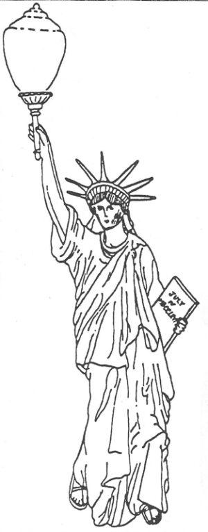 ALS-124 STATUE OF LIBERTY