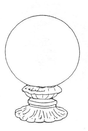 ALP-003 SHORT VICTORIAN FENCE LIGHT